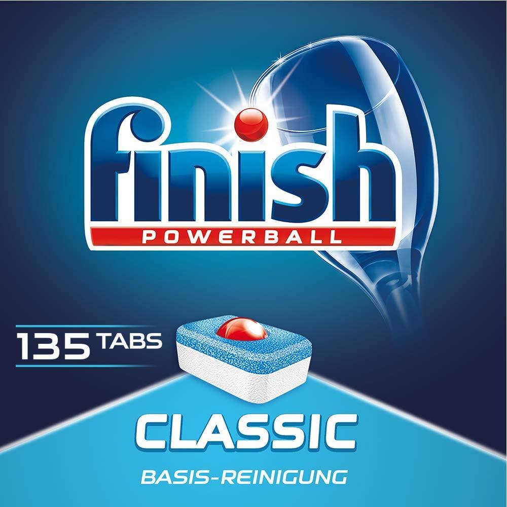 135x Finish Classic Geschirrspültabs