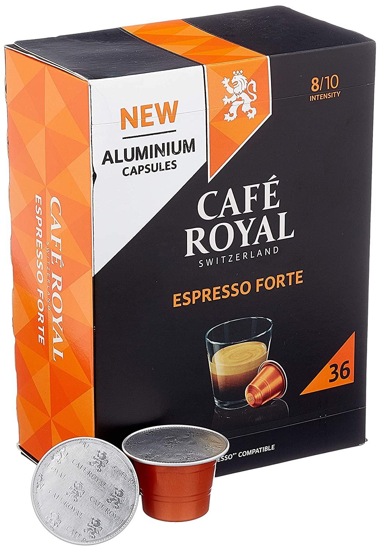 Cafe Royal 36 Espresso Forte Nespresso Kapseln aus Aluminium