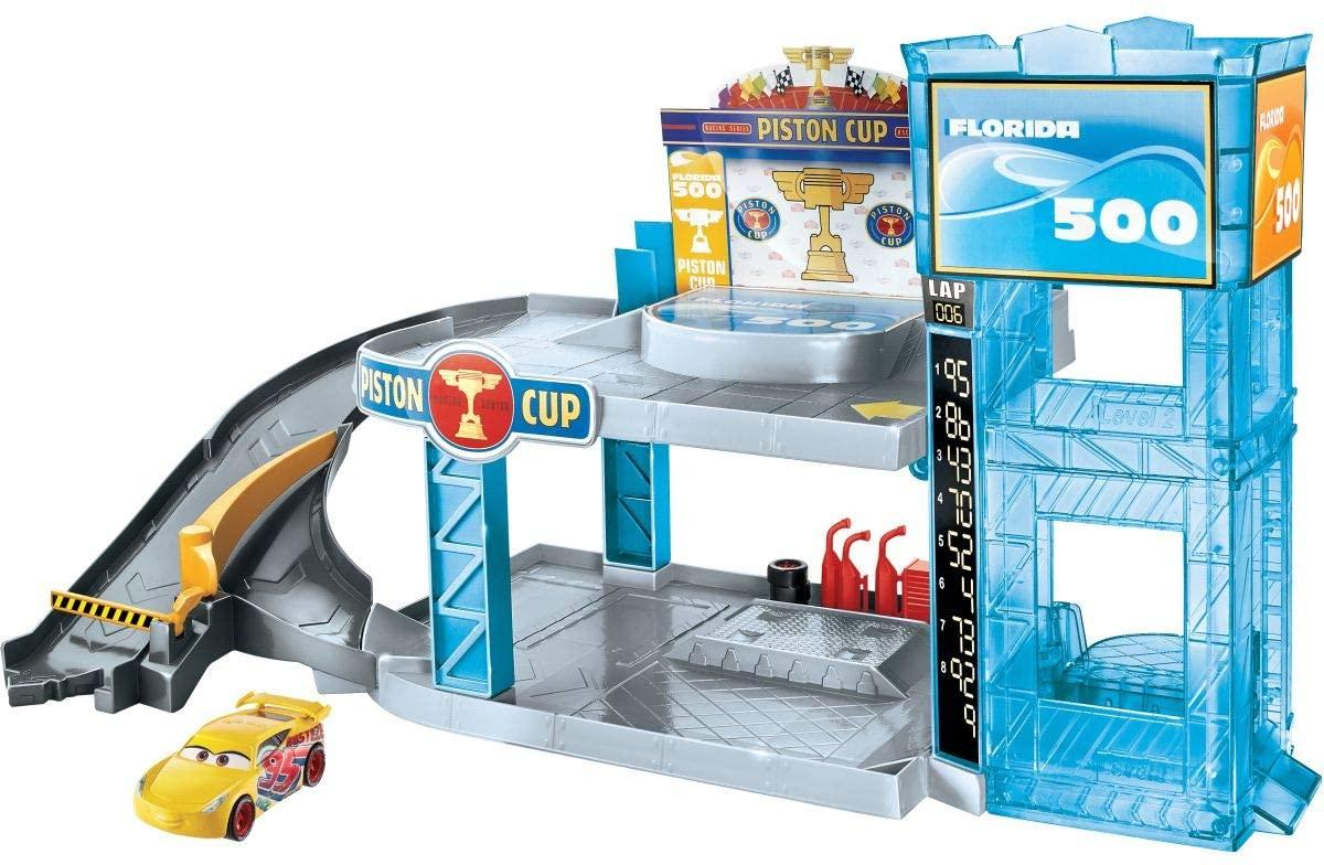 Mattel - Disney Cars Florida 500 Rennbahn-Parkhaus
