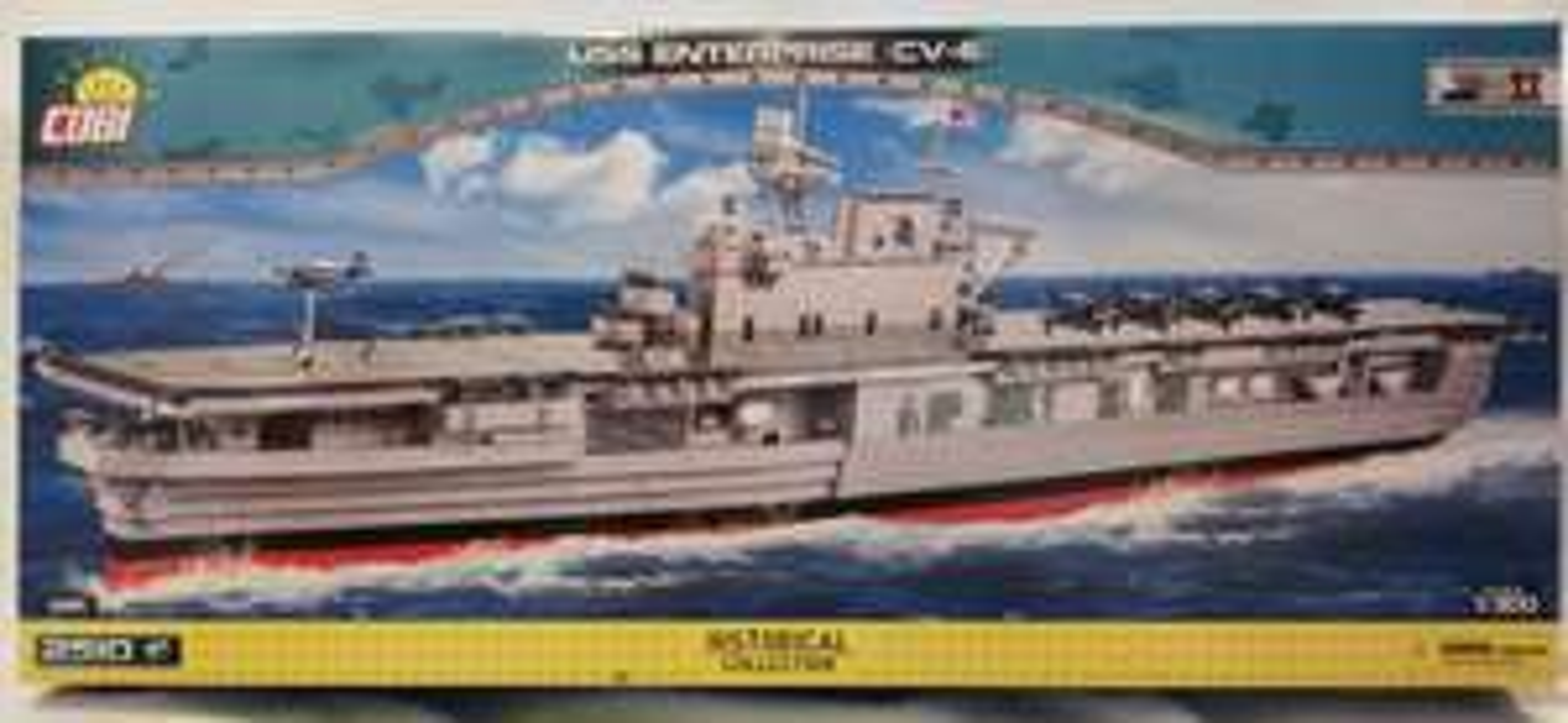 Cobi 4815 USS Enterprise (CV-6)