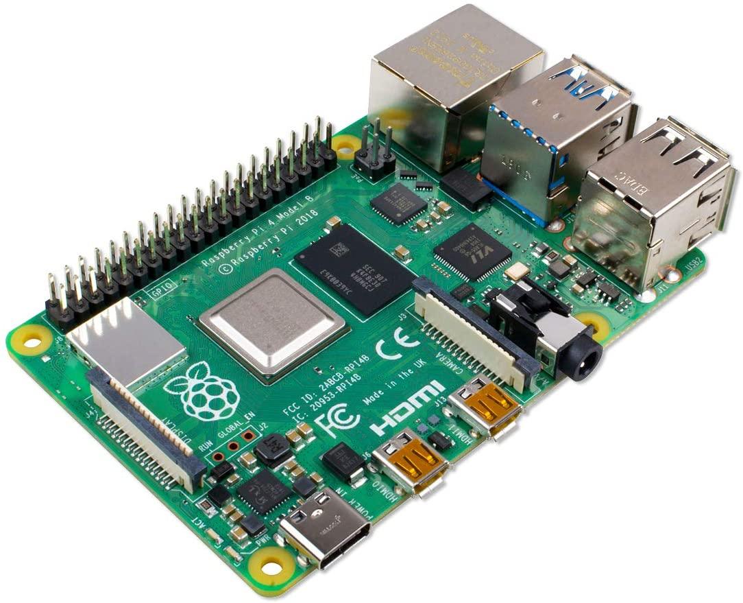 Raspberry Pi 4 Modell B, 4GB RAM Einplatinencomputer