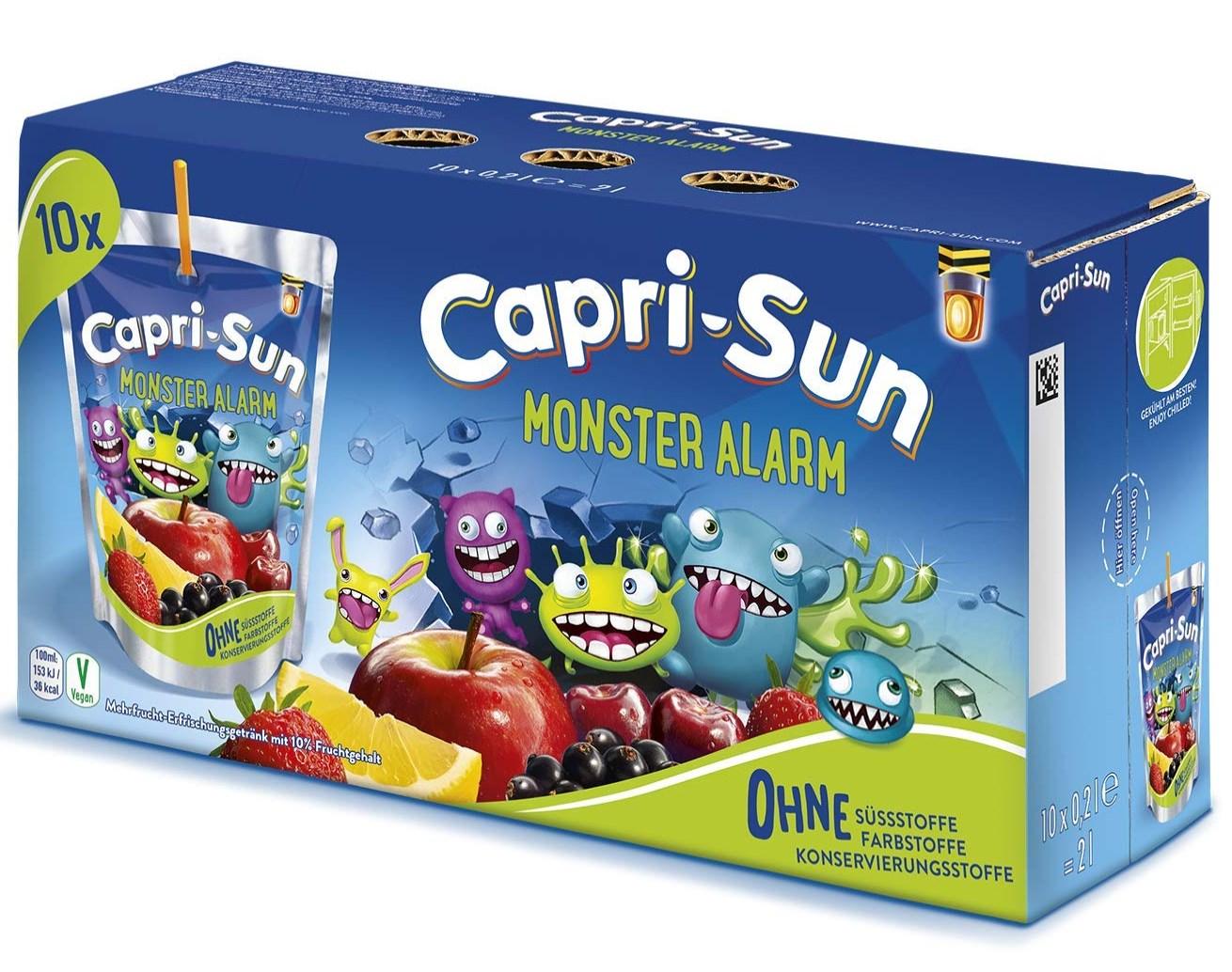 """100x Capri Sonne """"Monster Alarm"""""""