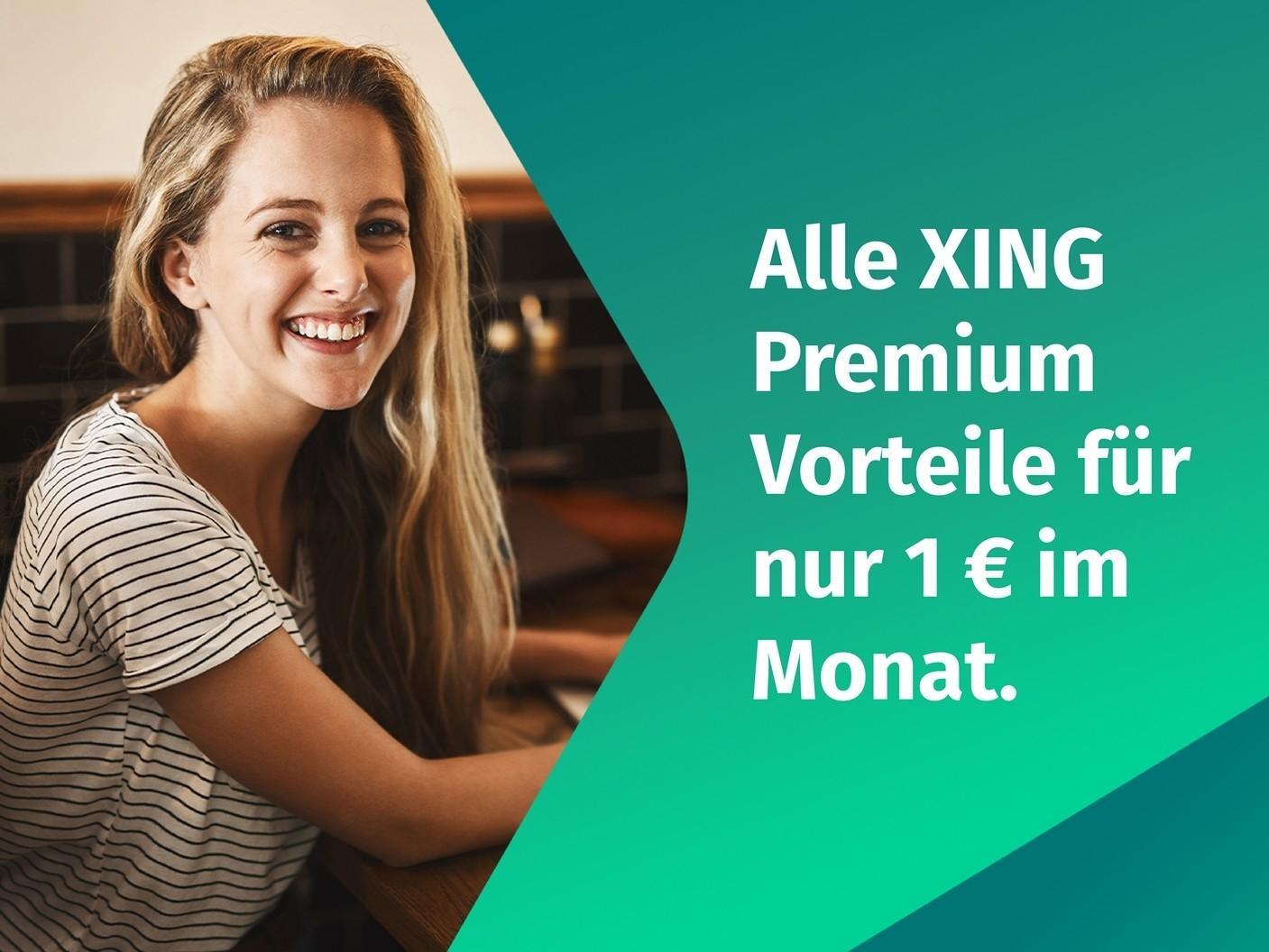 XING Premium für nur 1 € im Monat | Studenten