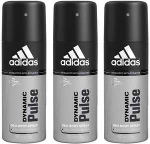 adidas Dynamic Pulse Deospray – 3er Pack (3 x 250 ml) 8,97 euro
