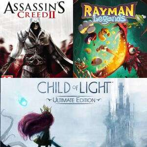 Child of Light & Rayman Legends & Assassin's Creed II (PC/Uplay) kostenlos ab dem 01.Mai