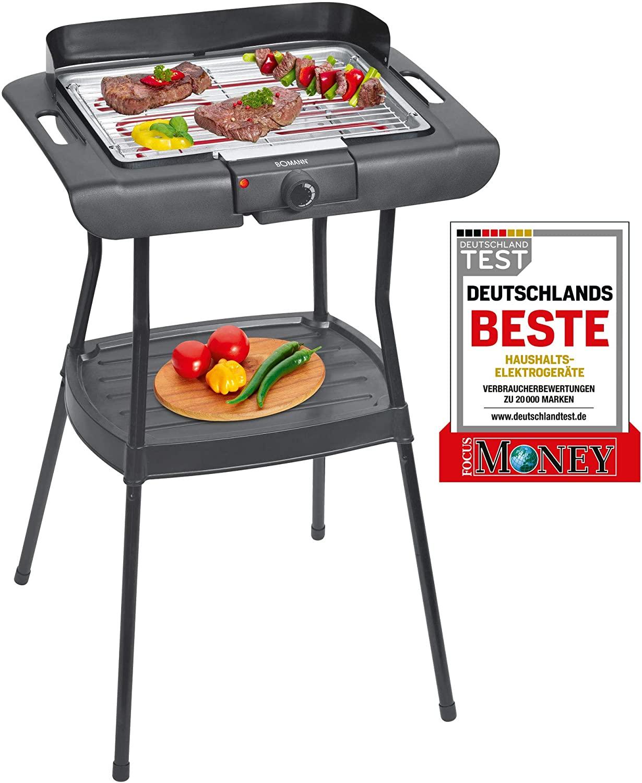 Bomann Elektro Barbecue-Standgrill