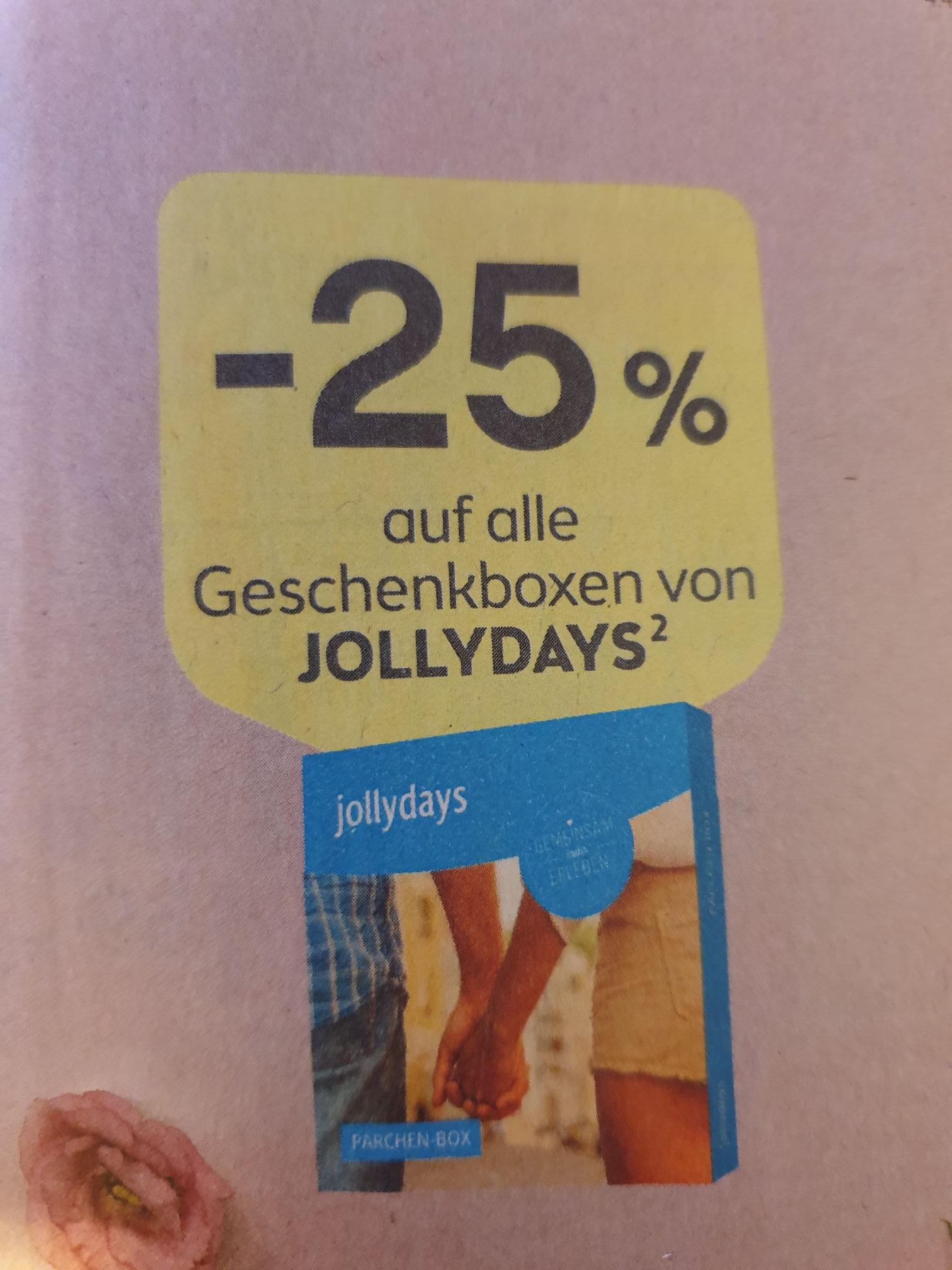 [Bipa] -25% auf alle JollyDays Geschenkboxen