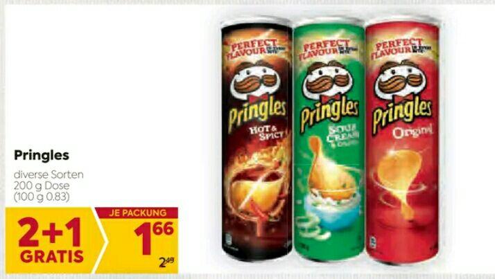 Billa - Pringles - Sommerfigur Ade