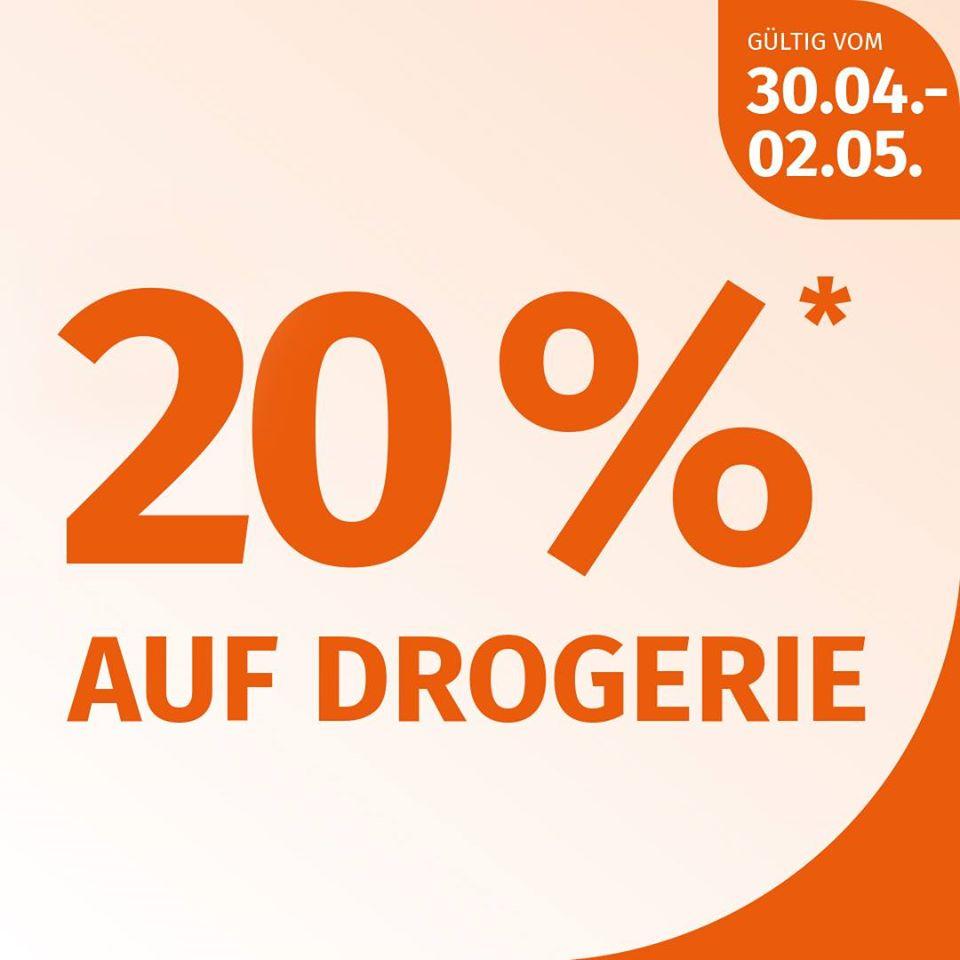 MÜLLER DROGERIE Österreich l -20% vom 30.04. bis 02.05 Auf Drogerie mit Sternchen*
