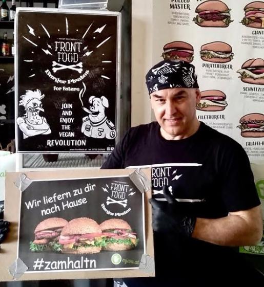 [Lokal - Linz] MJAM 4 € Gutscheincode für Front Food
