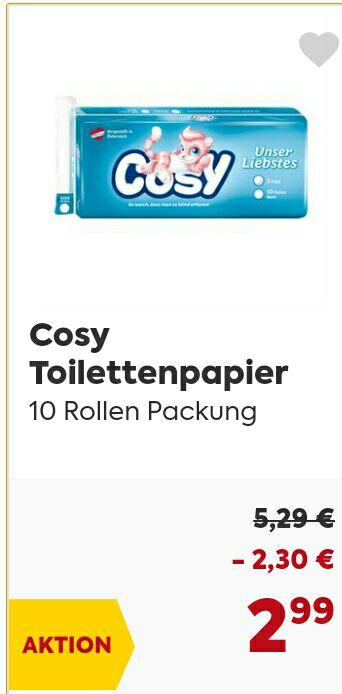 Billa - Cosy Klopapier (für alle die ihre Sammlung am Gästeklo vervollständigen wollen)