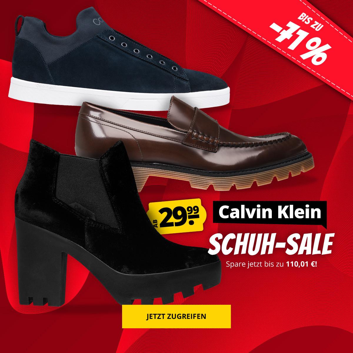 Calvin Klein Schuh Sale für Damen und Herren