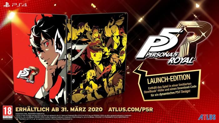 Persona 5 Royal Launch Edition für Playstation 4