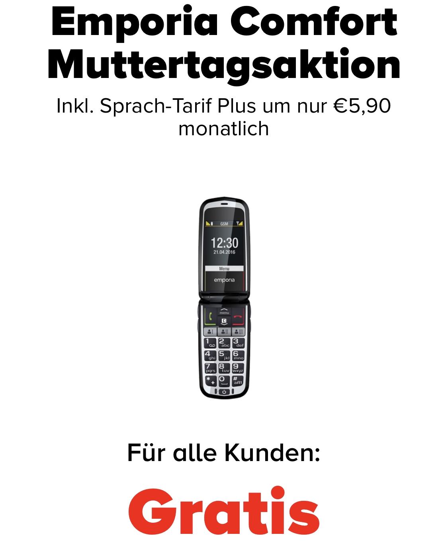 "GRATIS Emporia ""Comfort V66"" zu 5,90 € Tarif - ohne Bindung!!!"