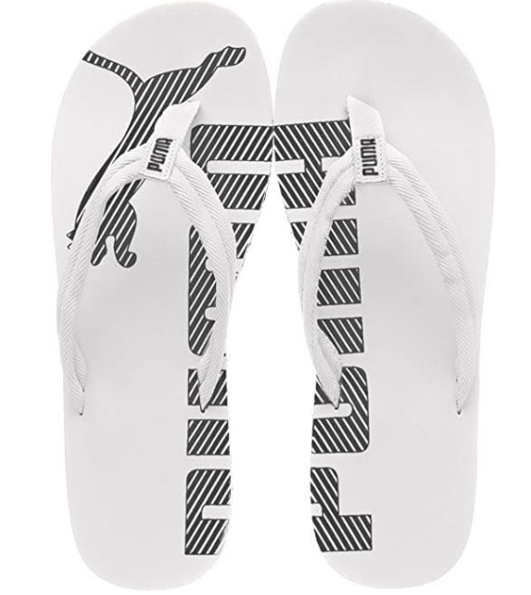 PUMA Unisex-Erwachsene Epic Flip v2 Flipflops schwarz weiß