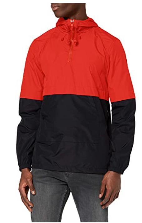 Amazon-Marke: find. Herren Windbreaker Jacke mit Kapuze, viele Farben und viele Größen