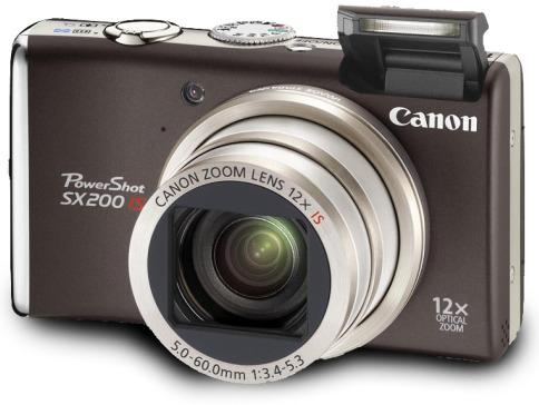 Canon PowerShot SX200 IS für 199€ bei Amazon
