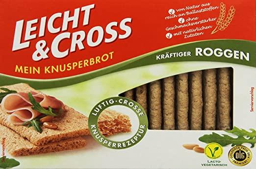 "Amazon Prime: Leicht & Cross ""kräftiger Roggen"" Knusperbrot + gratis Versand"