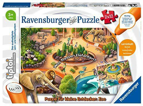 Preisjäger Junior: Ravensburger tiptoi Puzzle für kleine Entdecker: Zoo