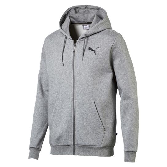 Puma Ess Full Zip Hoodie für Damen oder Herren in schwarz oder grau um 19,90€