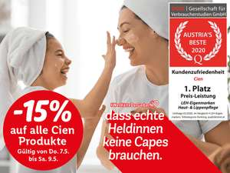 Lidl CIEN-SORTIMENT -15%