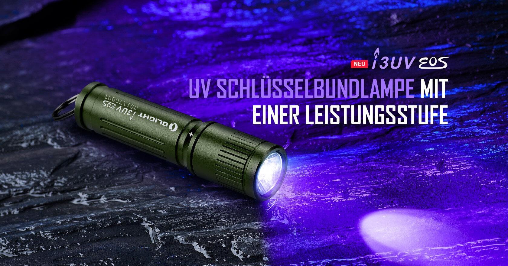 Olight i3UV EOS OD Green Taschenlampe