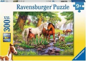 Preisjäger Junior: Wildpferde am Fluss - 300 Teile XXL Kinderpuzzle