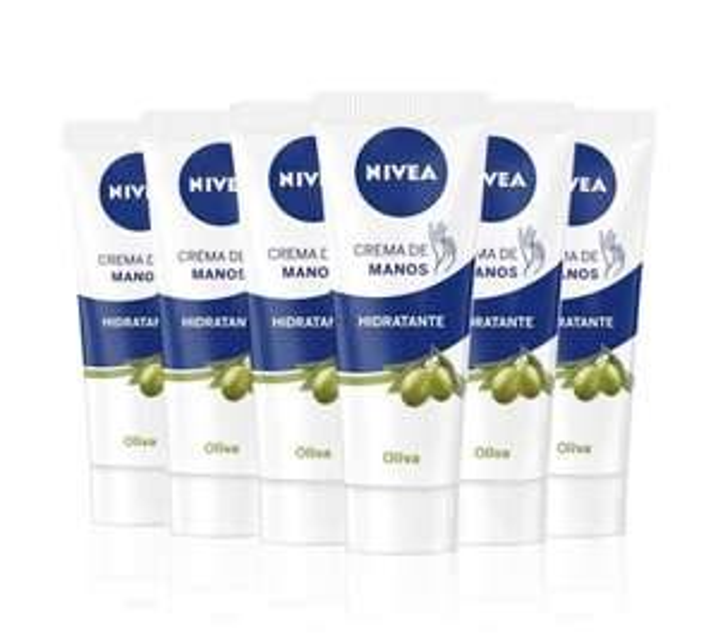 6x Nivea Handcreme Olivenöl