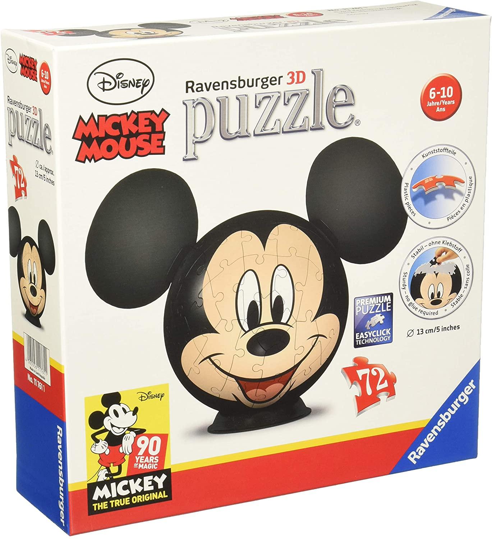 Ravensburger 3D Puzzle- Disney Mickey Mouse mit Ohren