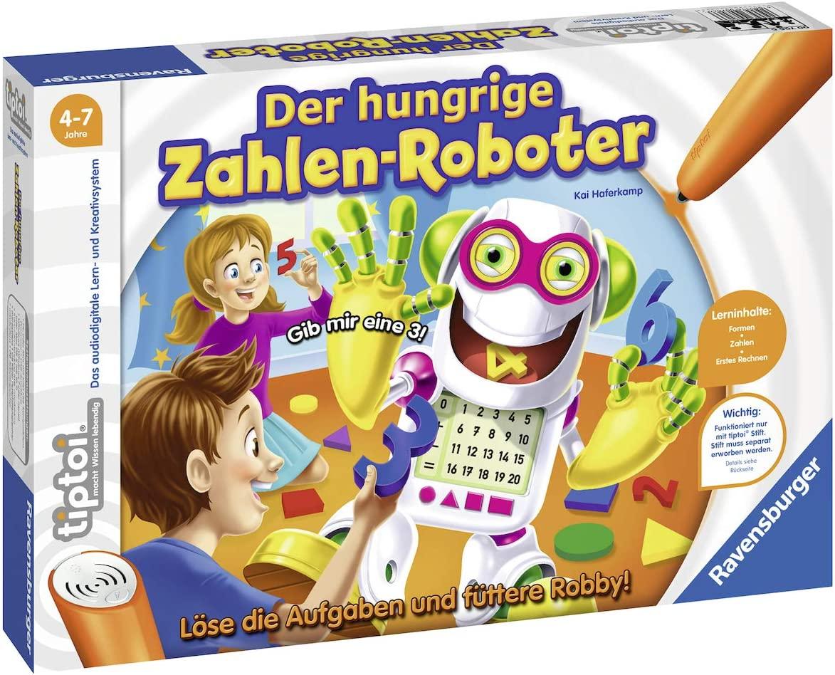 Ravensburger Tiptoi Der hungrige Zahlen-Roboter Spiel