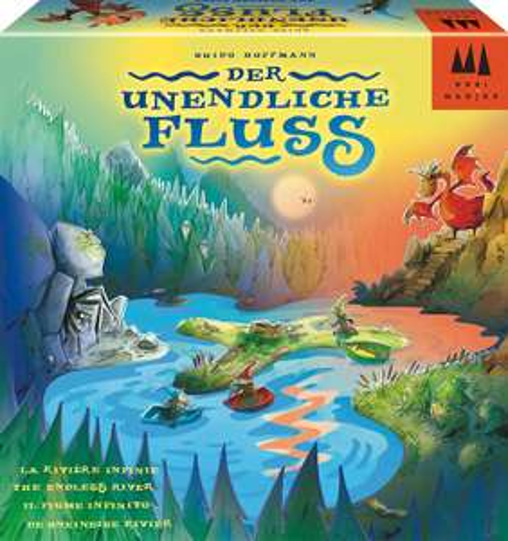 Schmidt Spiele - Drei Magier- Der unendliche Fluss, Kinderspiel