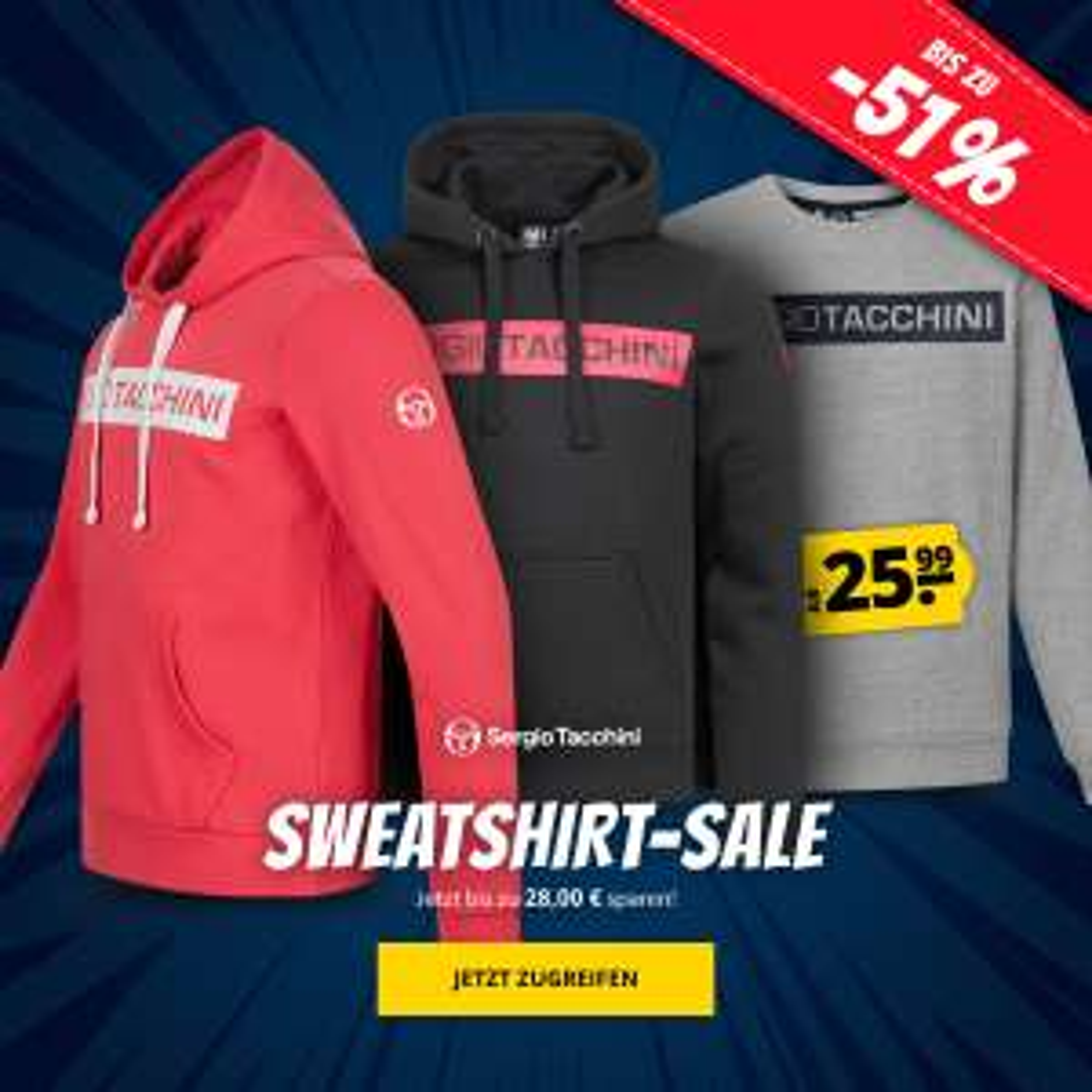 Sergio Tacchini Sweatshirt Sale
