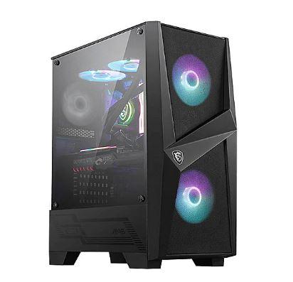 MSI MAG Forge 100R MIDI Tower Gaming Gehäuse, Echtglas Seitenfenster, ARGB