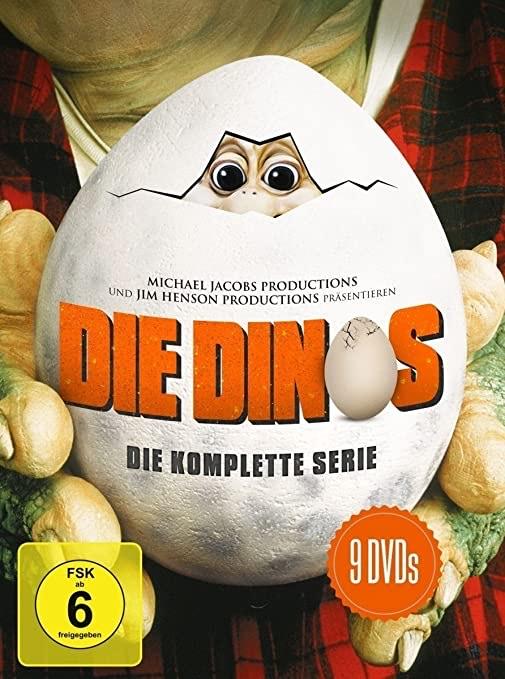 Die Dinos - Die komplette Serie (DVD)