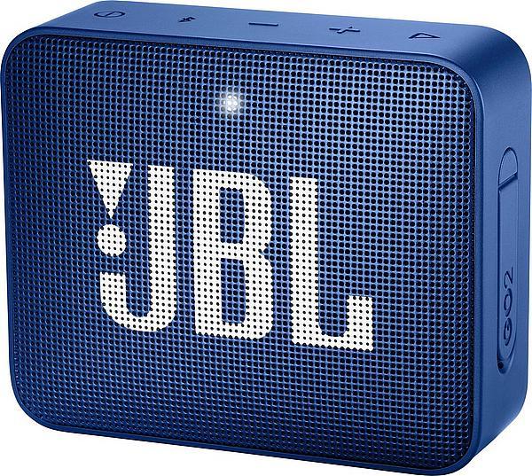 JBL GO 2 Bluetooth Lautsprecher in Schwarz, Blau oder Champagne (Bestpreis)