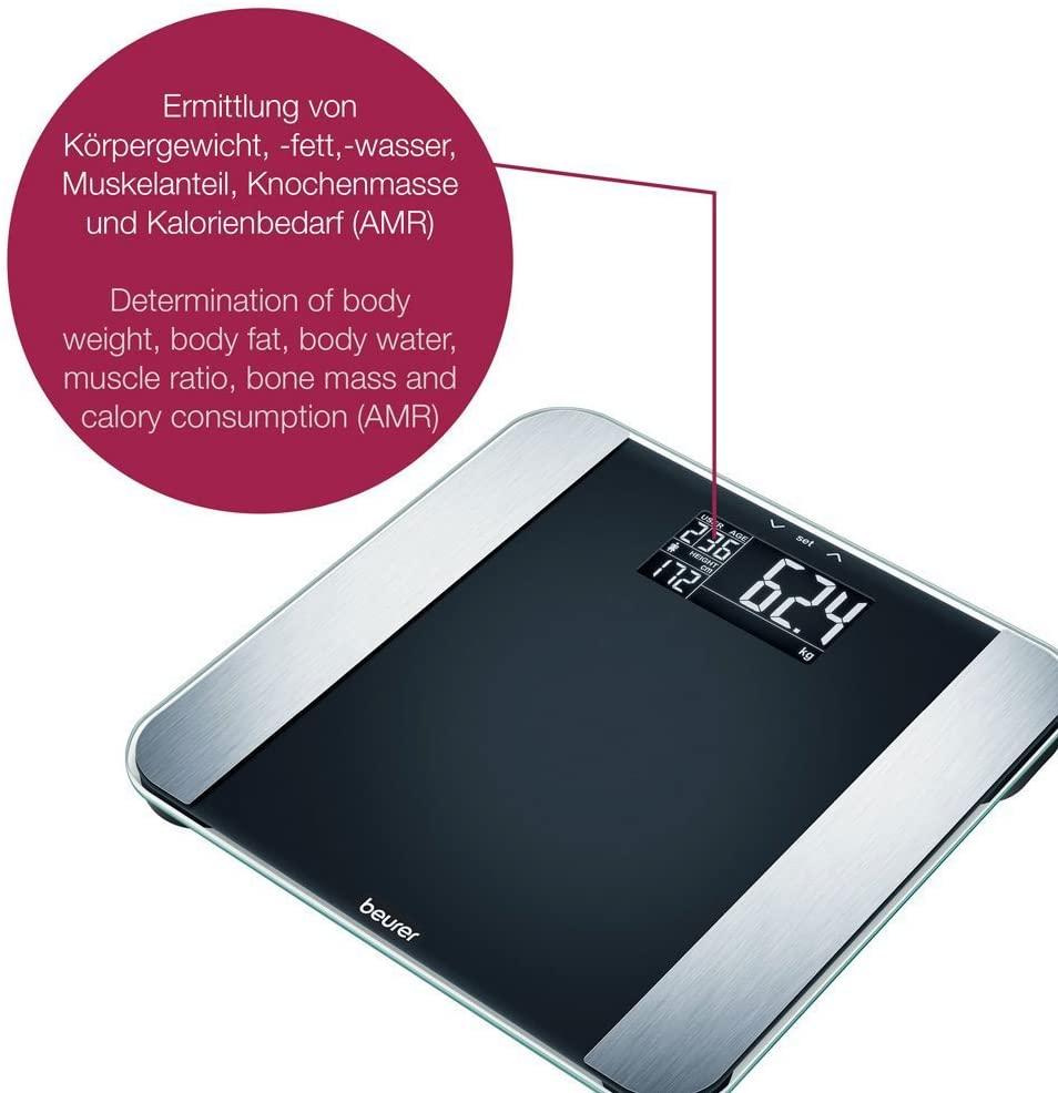 Beurer BFLE2013 Limited Edition Elektronische Körperanalysewaage