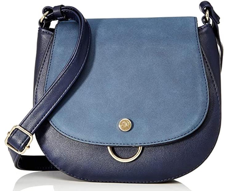 TOM TAILOR DENIM Damen Molly Umhängetasche, 23x19.5x8.5 cm, blau