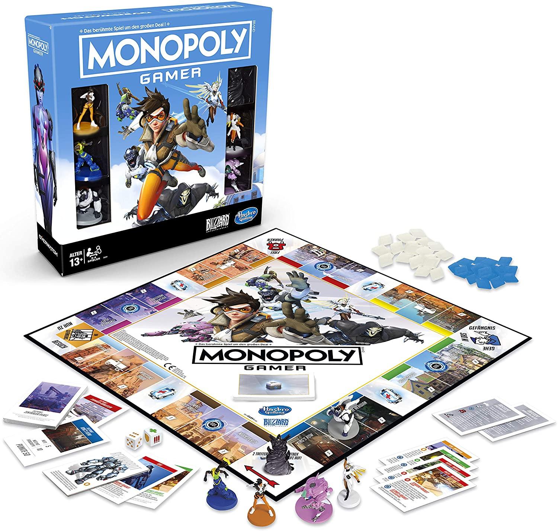 Hasbro Monopoly Gamer Overwatch