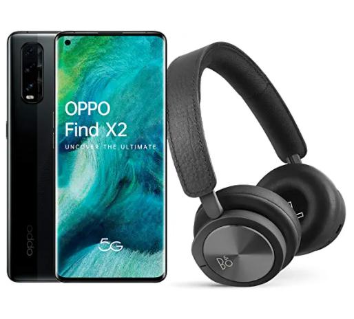 OPPO Find X2 5G (12GB/256GB) + Bang&Olufsen BeoPlay H8i Bluetooth Kopfhörer