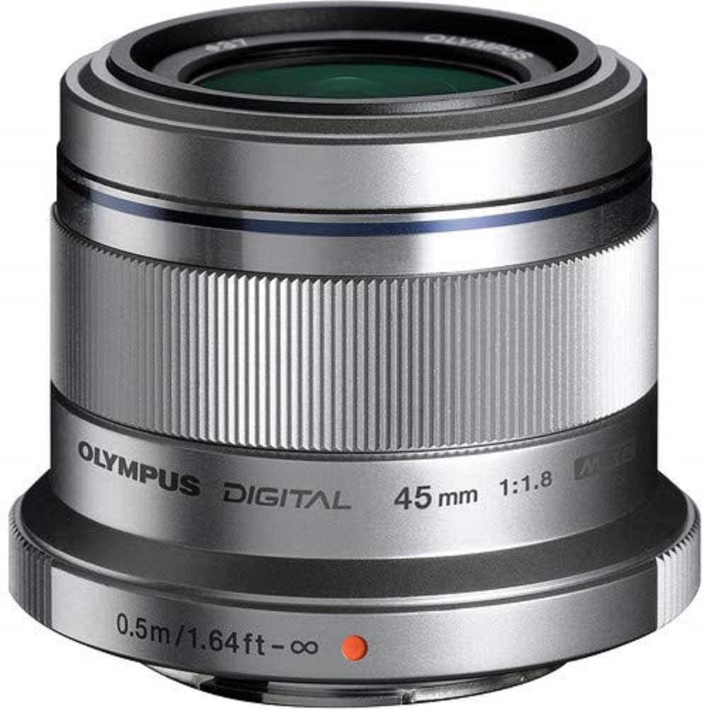 Olympus 45mm 1.8 (silber) - Für Micro 4/3 (MFT m4/3) - Gute Portraitbrennweite