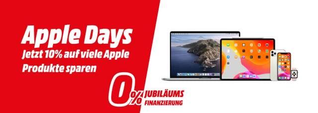 MediaMarkt -10% auf manche Apple Produkte