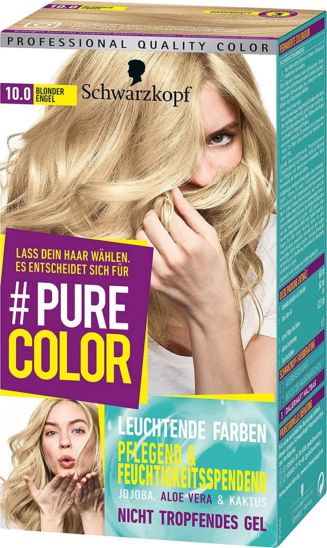 [HaarenichtwiePeter] Schwarzkopf Pure Color Coloration 10.0 Blonder Engel