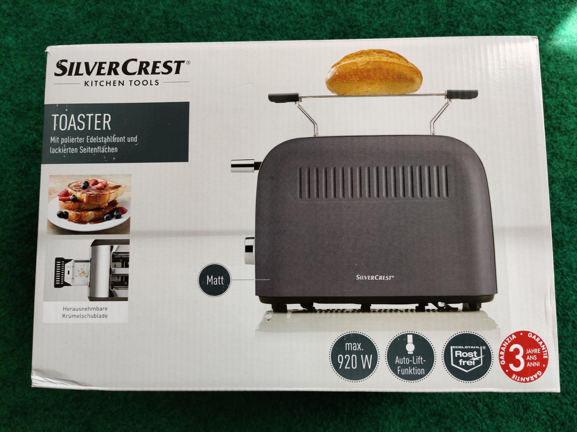 [Lidl] Silvercrest Toaster in verschiedenen Farben um 10€