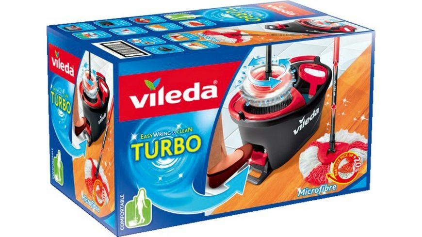 vileda Turbo Easy Wring + Clean Komplettset