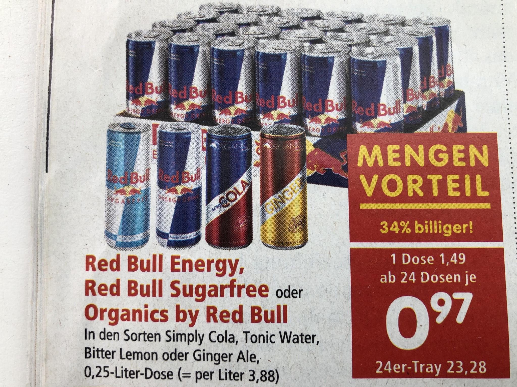 Organics bei Red Bull ## Inter Spar ##