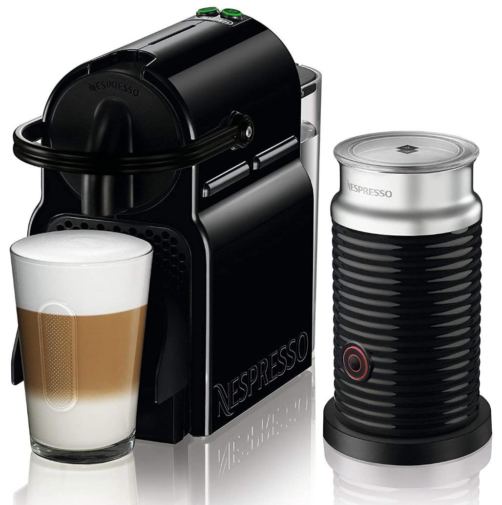 De'Longhi Nespresso Inissia EN 80.BAE Kaffemaschine + Aeroccino Milchschäumer