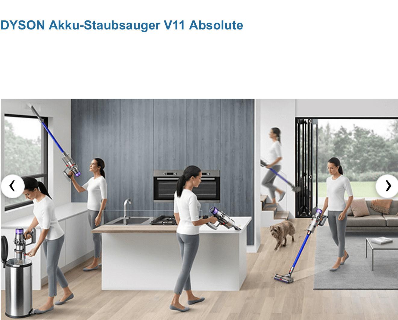 DYSON Akku-Staubsauger V11 Absolute