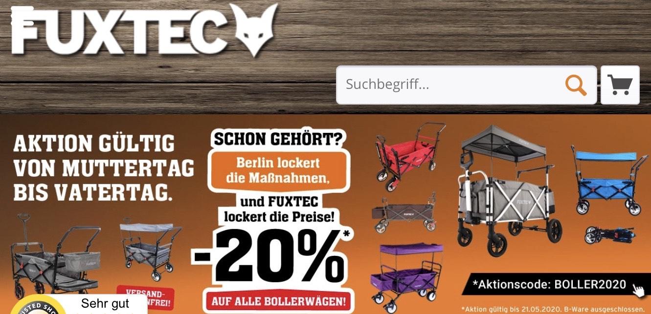 FUXTEC Bollerwagen -20%