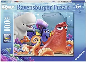 Ravensburger 10875 - Dories Abenteuer Puzzle, 100-teilig