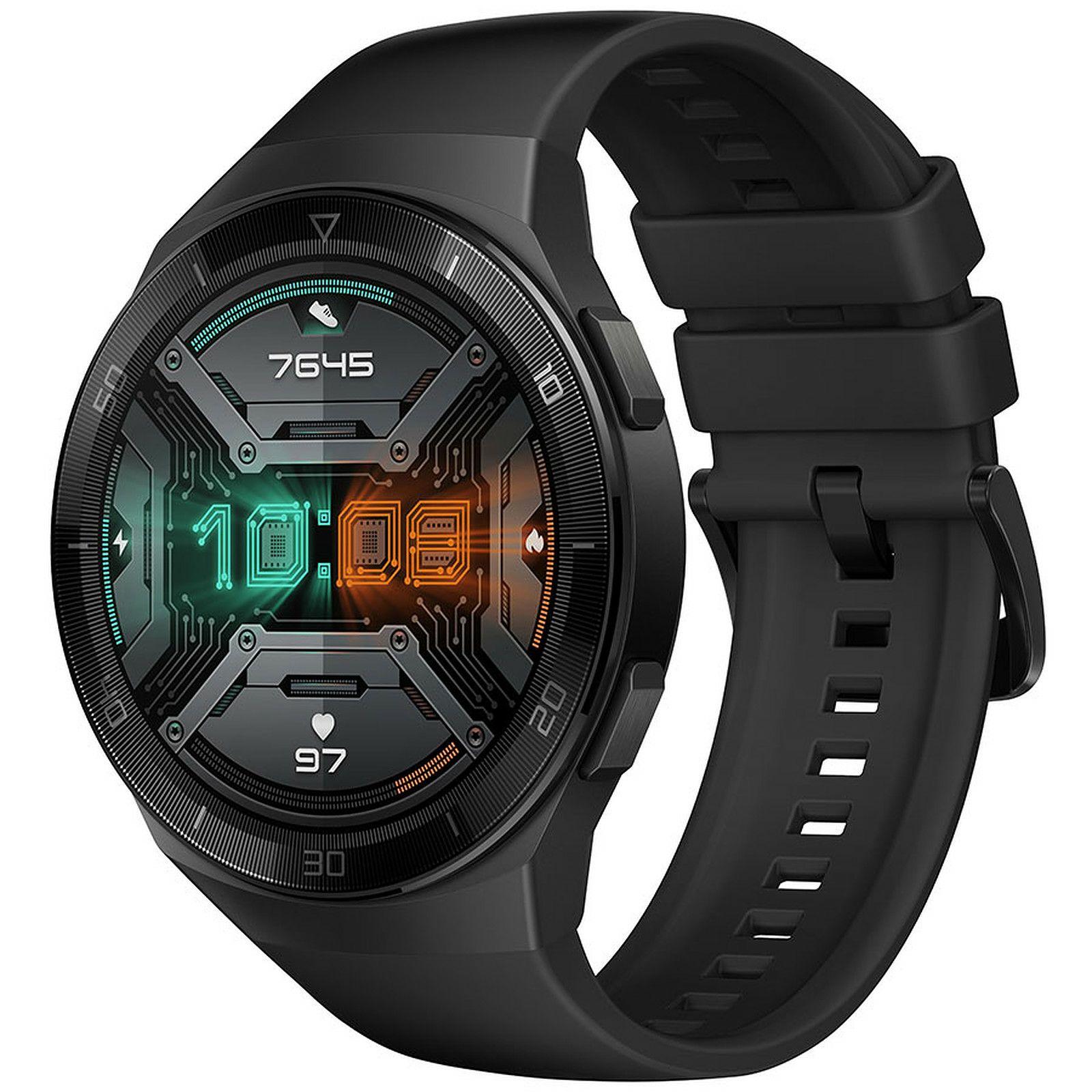Huawei Watch GT2e: Smartwatch (SpO2-Monitoring, Herzfrequenz-Messung, Musik Wiedergabe, GPS, Fitness Tracker, 5ATM wasserdicht)
